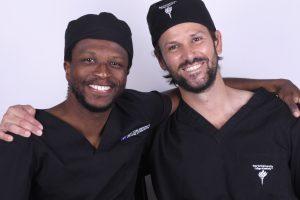 Notre duo d'experts, Alex Dagba et Julien Mourlaas
